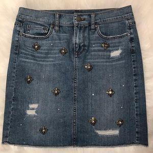 Loft jean skirt, 2
